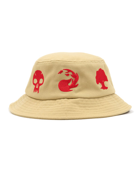 Brain Dead x Magic: The Gathering Embroidered Bucket Hat - Natural