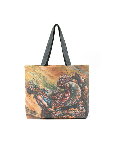 Brain Dead x Magic: The Gathering Scream Match Tote - Yellow