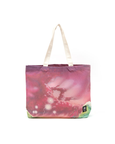 Brain Dead x Magic: The Gathering Wave Nylon Tote - Pink