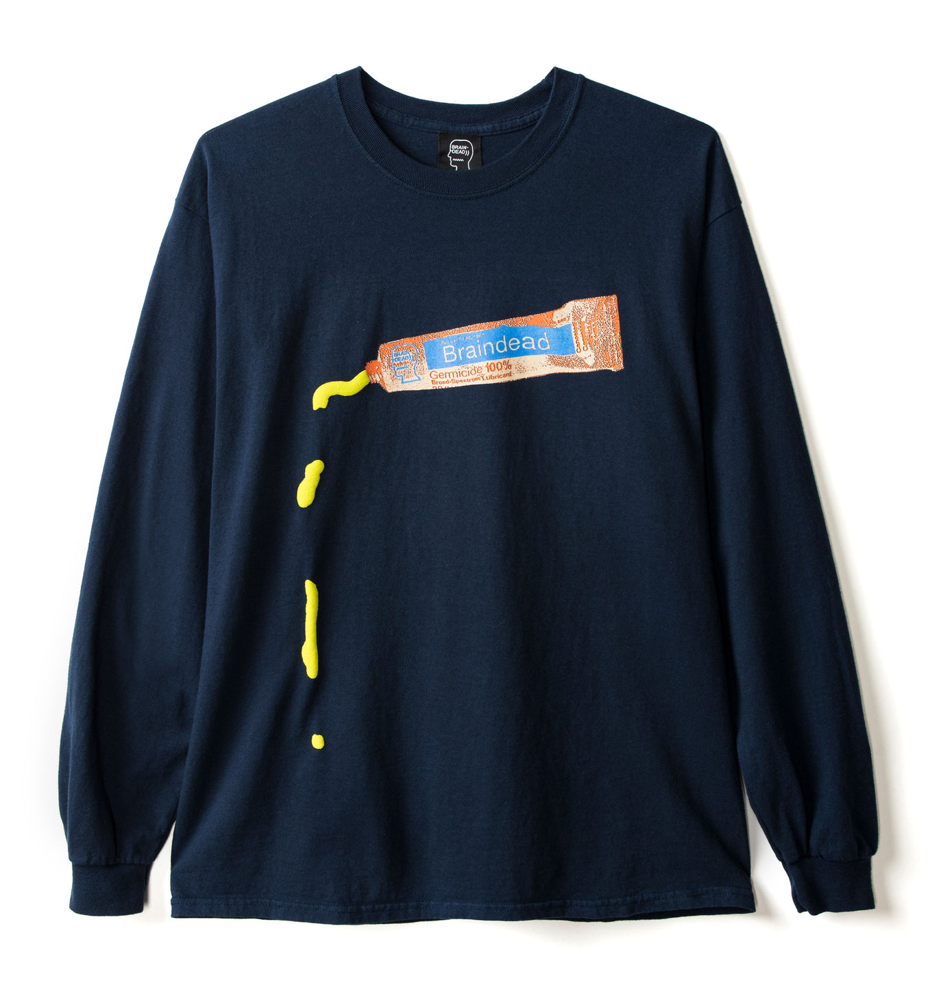 Ooze Long Sleeve Tee - Navy