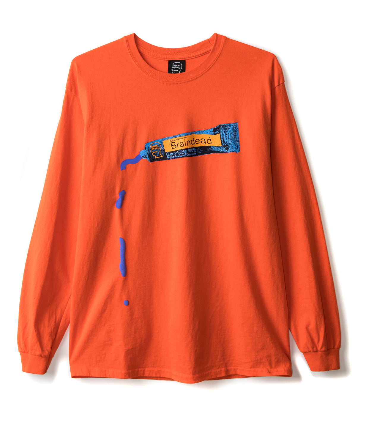 Ooze Long Sleeve Tee - Emergency Orange