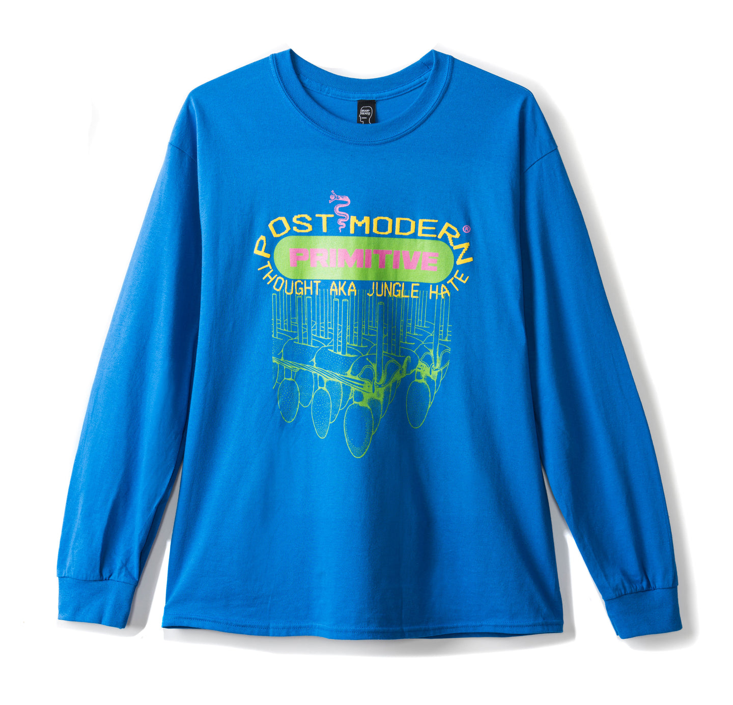 Primitive Long Sleeve Tee - Royal Blue