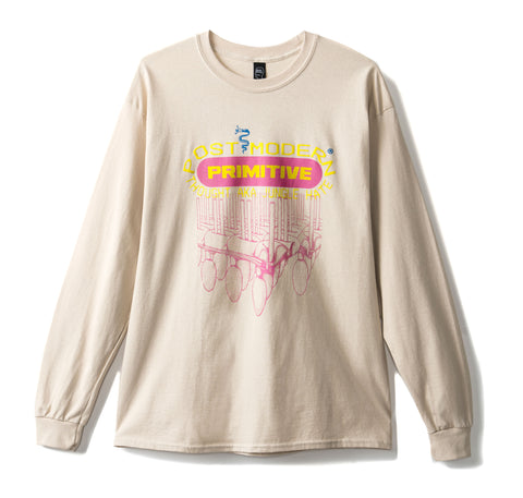Primitive Long Sleeve Tee - Tan