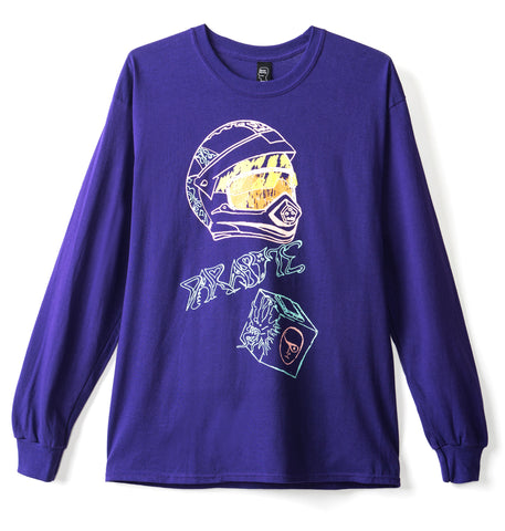Parasite Long Sleeve Tee - Purple