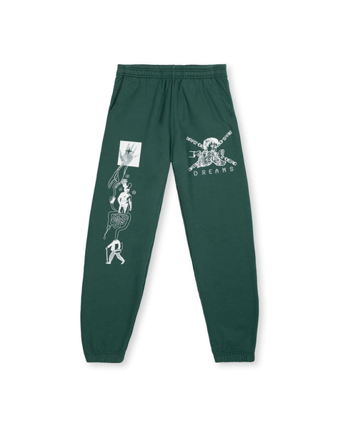 Braindead Dreams Sweatpant - Mallard Green