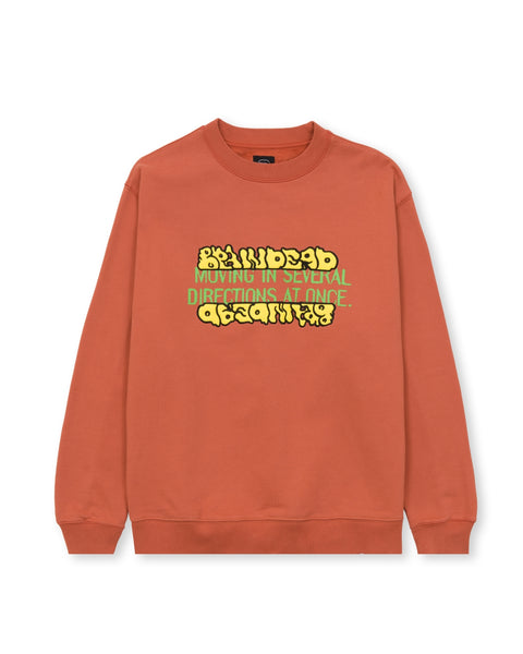 Movement Crewneck Sweatshirt - Terracotta