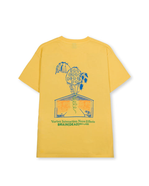 Vortex Interaction Noise Effects Short Sleeve - Yellow