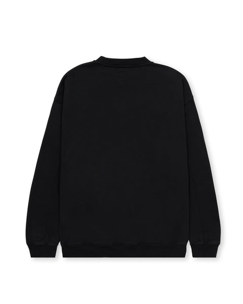 Universal Anti-Climax Crewneck Sweatshirt - Washed Black