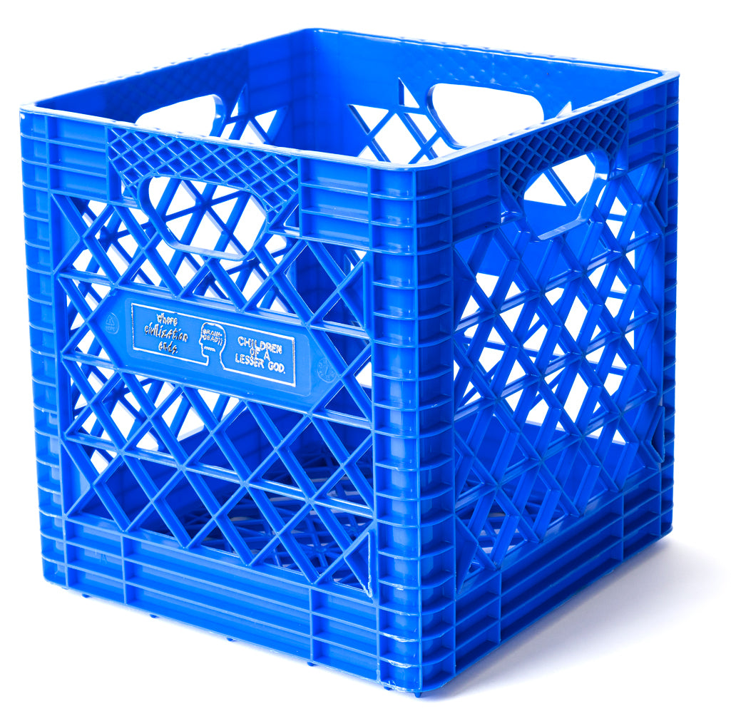 Record Collector Edition Crate - Electric Blue