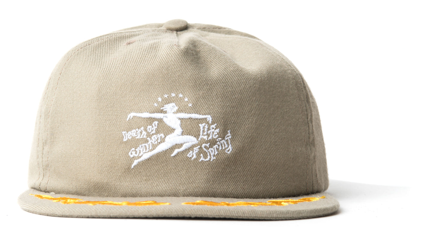 Death Of Life Hat - Khaki