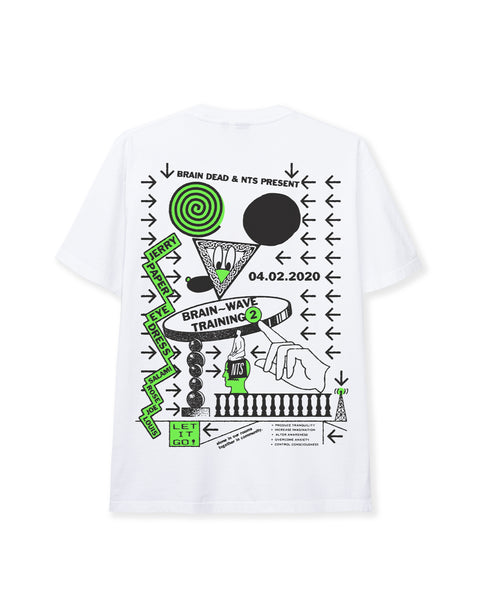 Brainwave Training NTS Ep. 2 T-shirt - White