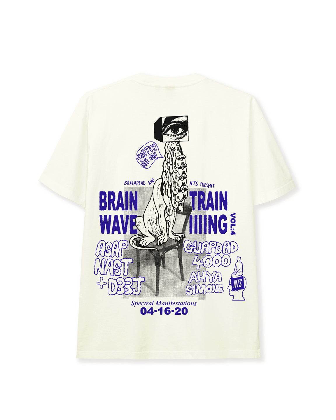 Brainwave Training NTS Ep. 4 T-shirt - Natural