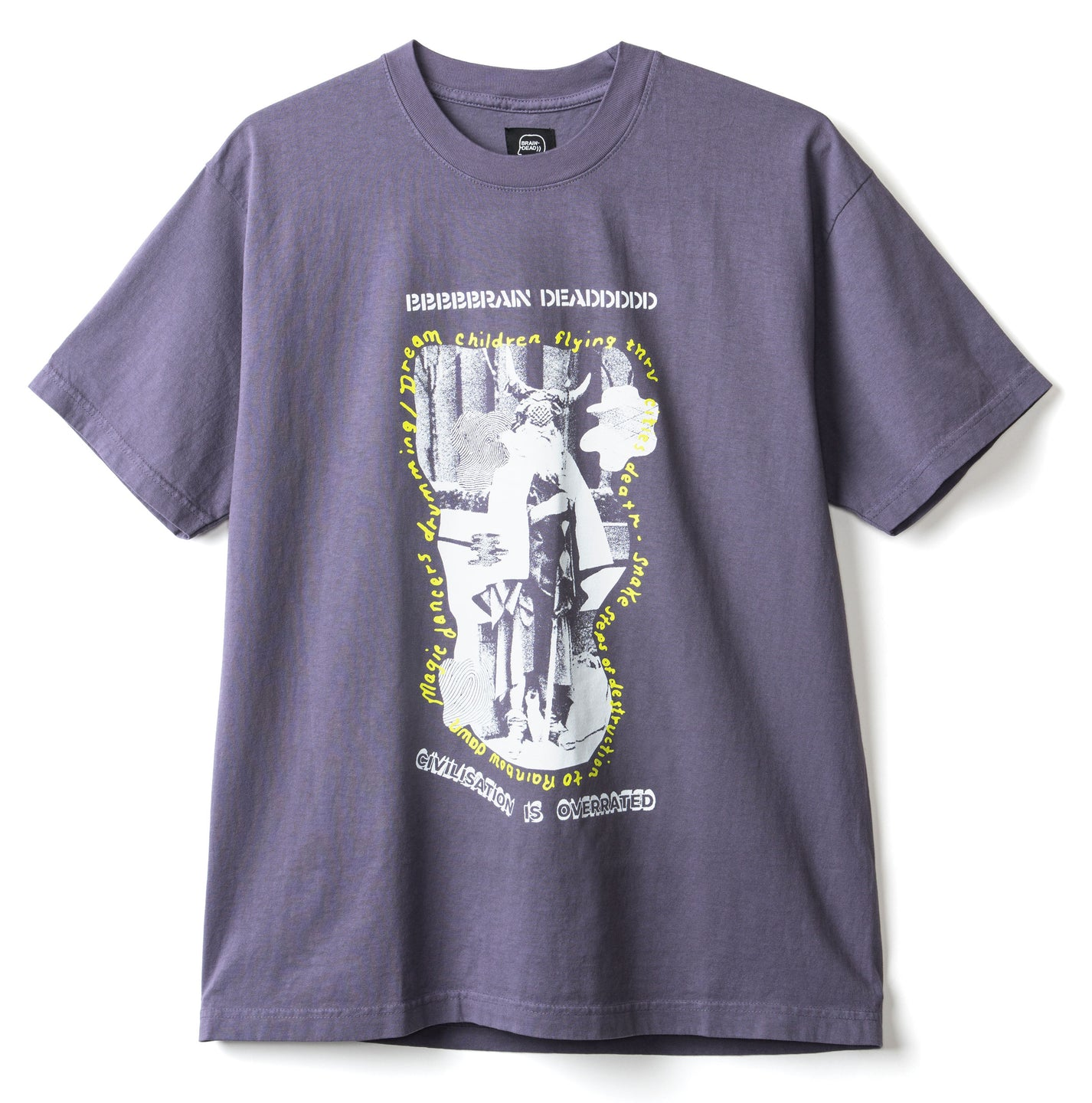 Civilization t-shirt - Dull Plum