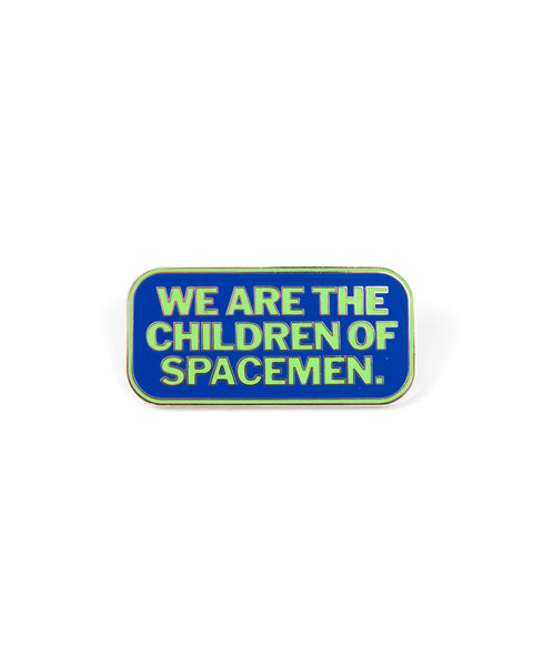 Space Children Enamel Pin - Multi