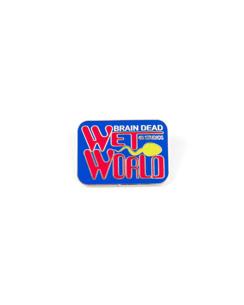 Wet World Enamel Pin - Multi