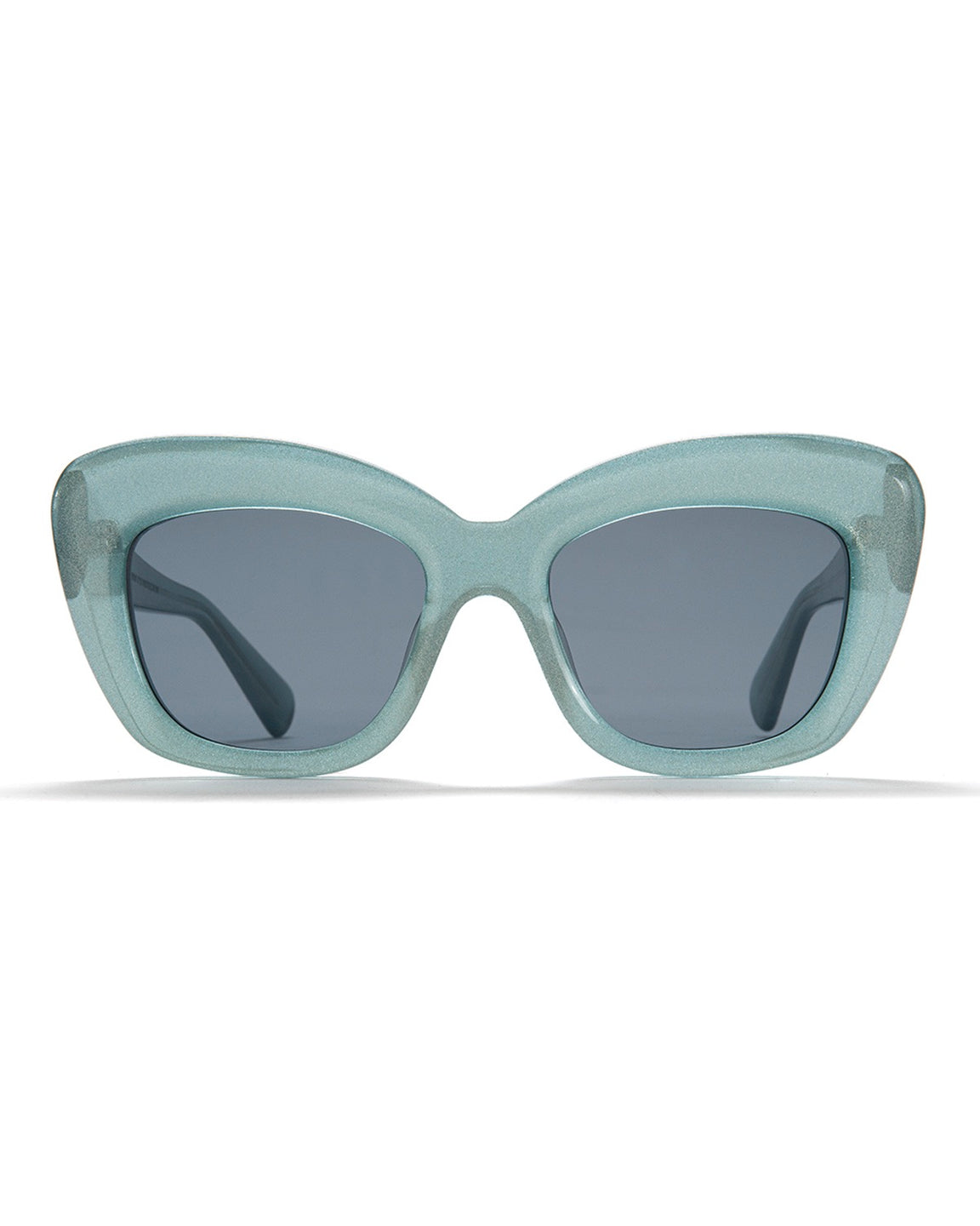 Chibi Sunglasses - Silver Flake Finish