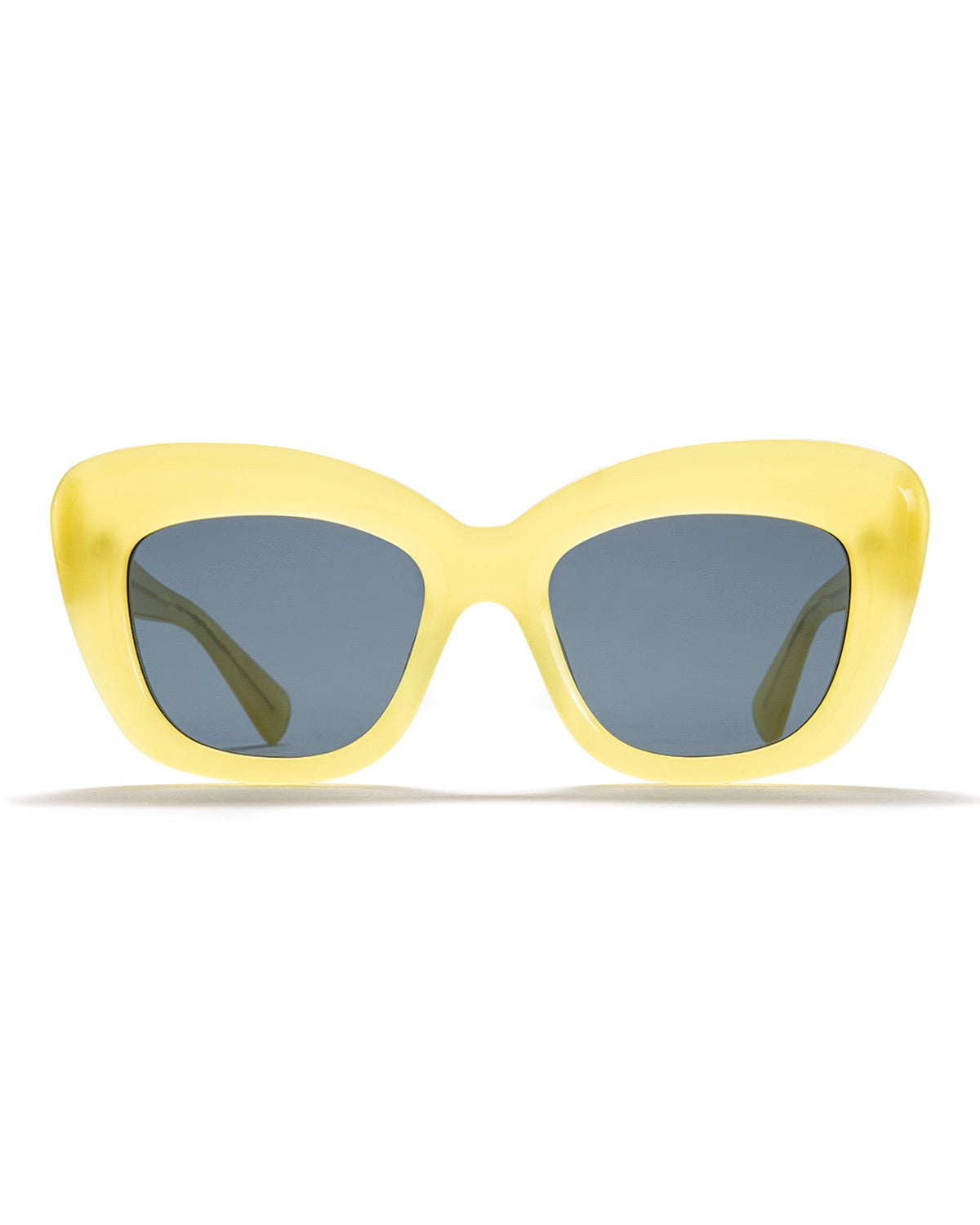 Chibi Sunglasses - Translucent Yellow