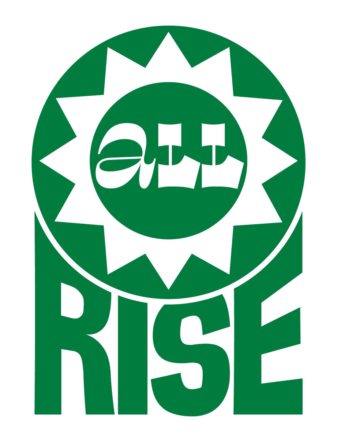 ALL RISE Donation Pin - Metal / Green