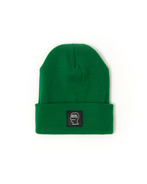 Logo Head Beanie - Green