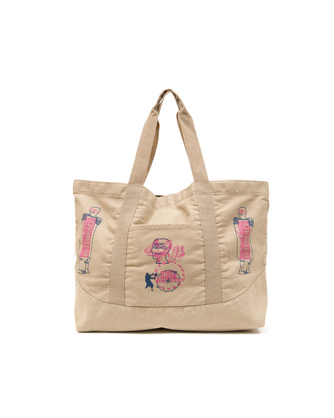 Deep Encounter Tote - Khaki