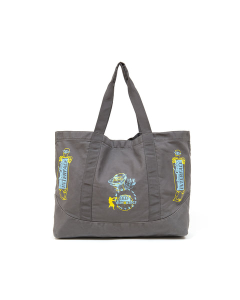 Deep Encounter Tote - Charcoal