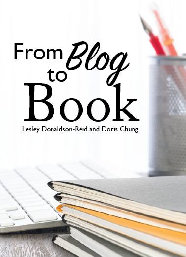 """From Blog to Book"" - paperback (Lesley Donaldson, Doris Chung)"