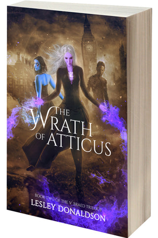 "AUTOGRAPHED ""The Wrath of Atticus"" paperback (Lesley Donaldson)"