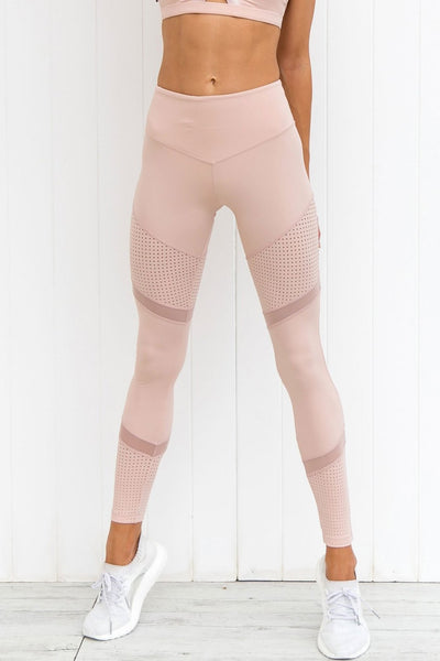 Race Ready Leggings - Blush - PURE DASH
