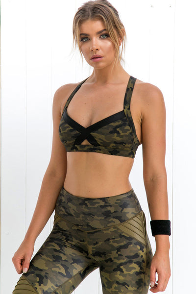 Lovers Army Bralette - PURE DASH