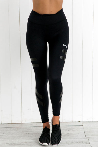Black Tribe Tights - PURE DASH