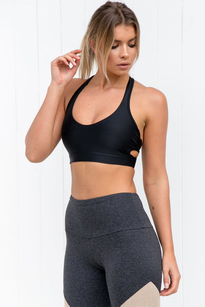 Wrap Bra - Black