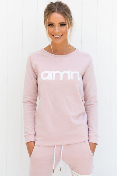 Pink Sweatshirt - PURE DASH