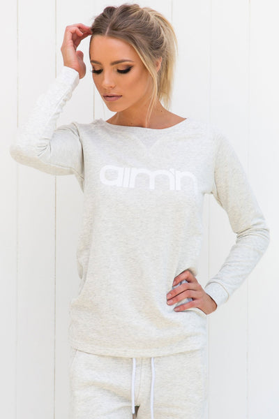 Grey Sweatshirt - PURE DASH