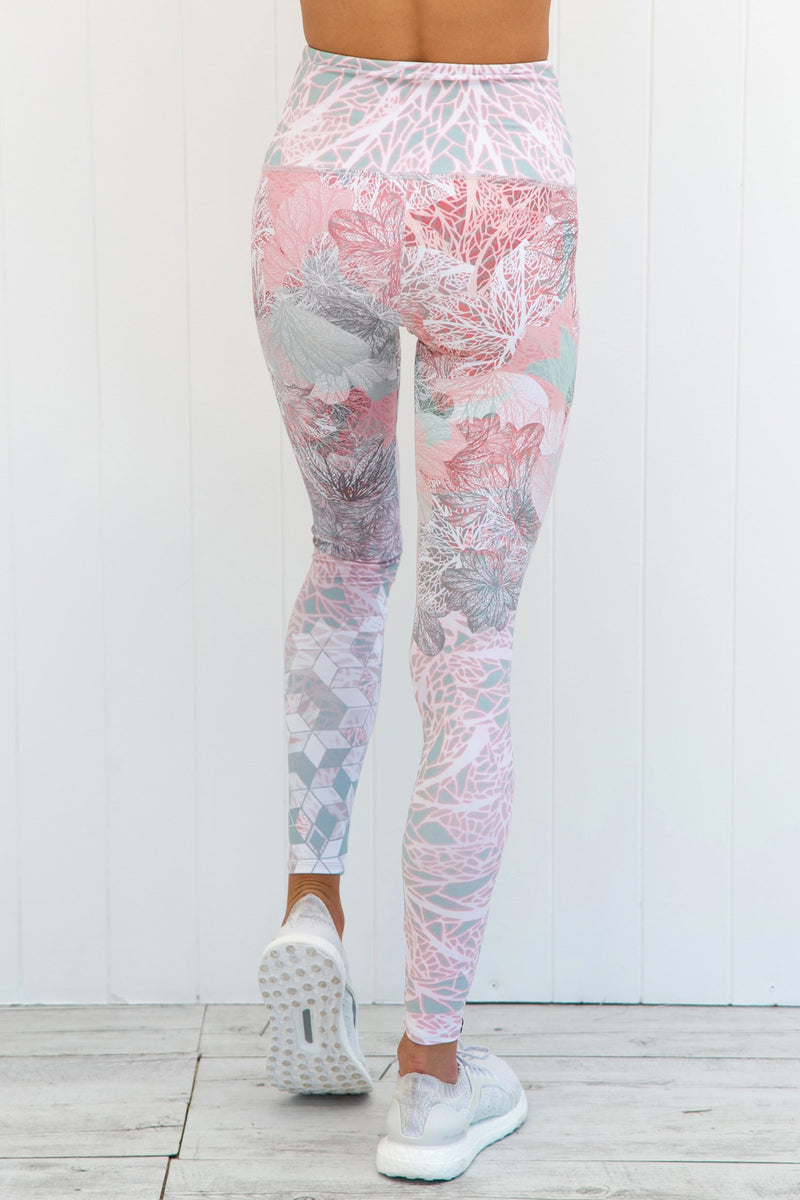 Delicate High Rise Leggings - PURE DASH
