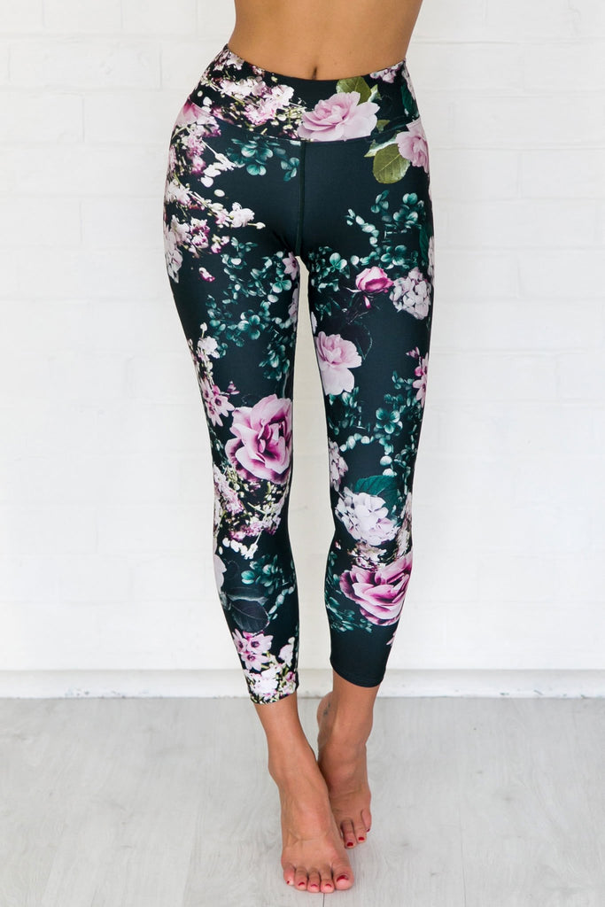 Wild Rose 7/8 Leggings