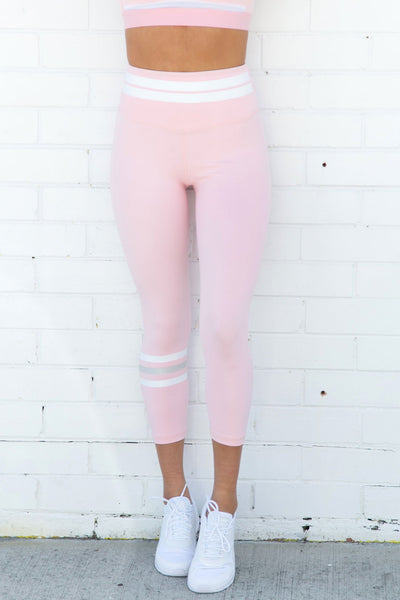 Remy Coral Blush 7/8 Leggings - PURE DASH