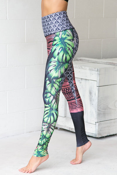 Cuban Angel High Rise Leggings - PURE DASH
