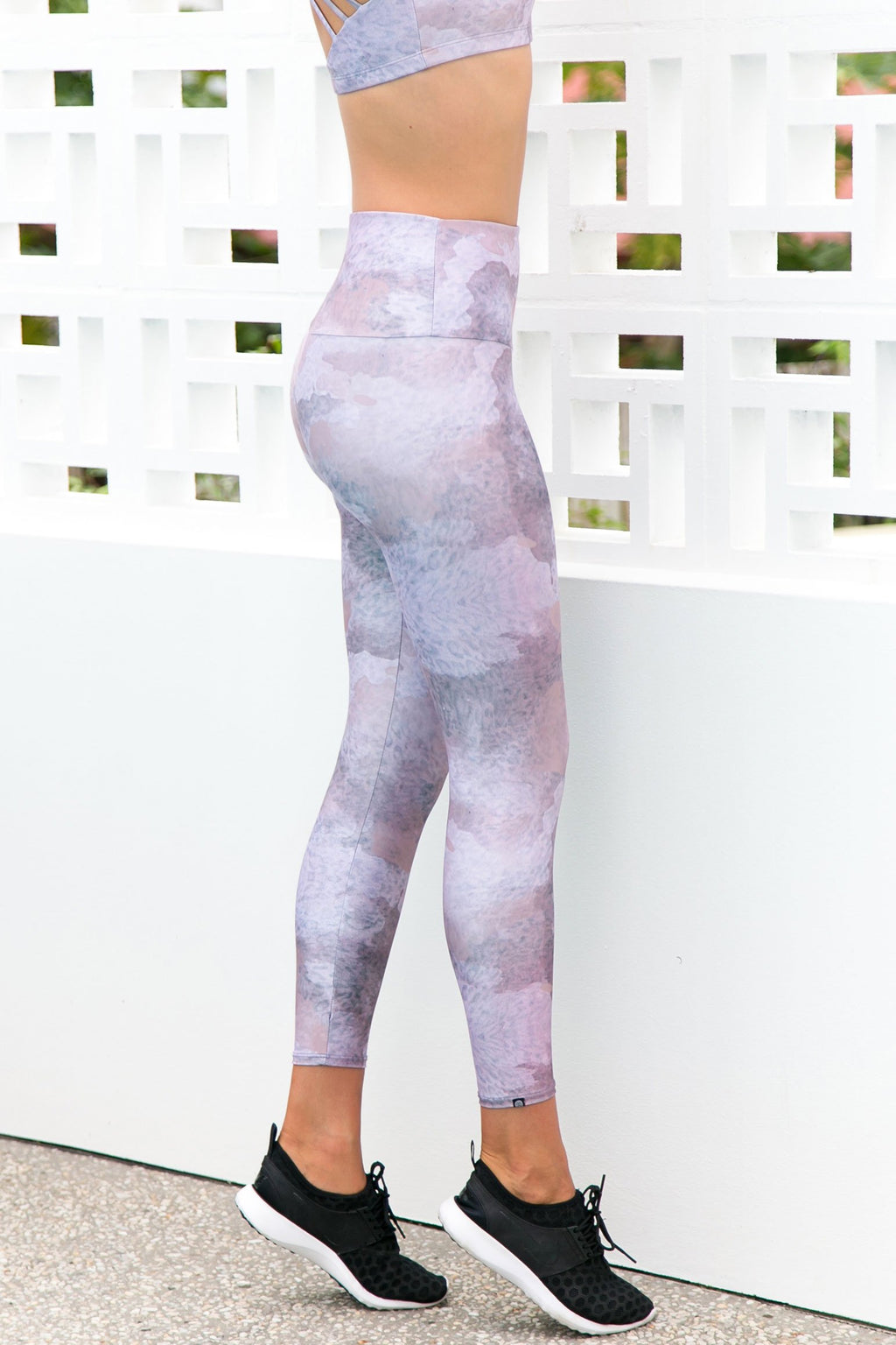 High Rise Animal Dusk Leggings - PURE DASH