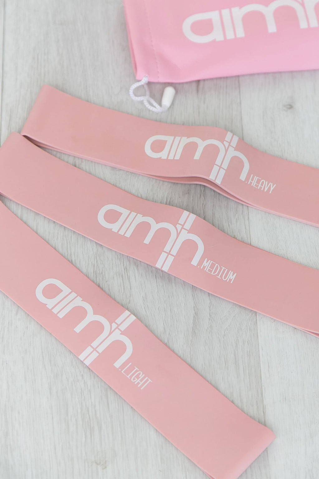 Resistance Bands - Baby Pink - PURE DASH
