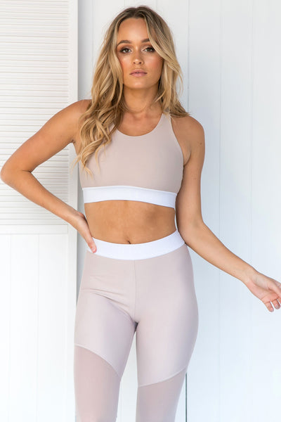 Scarlett Blush Sports Bra