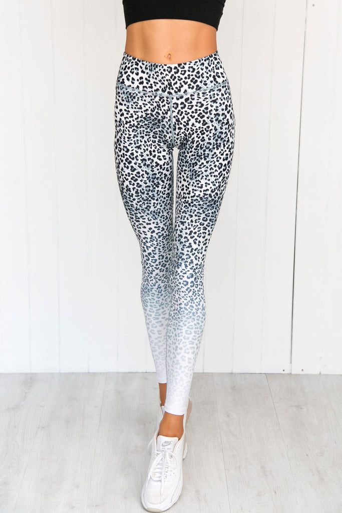 Jungle Cat Ombre Leggings - PURE DASH