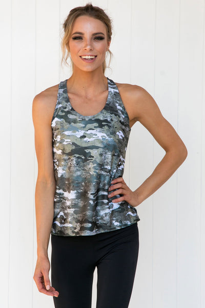 Support Tank: Marble Camo