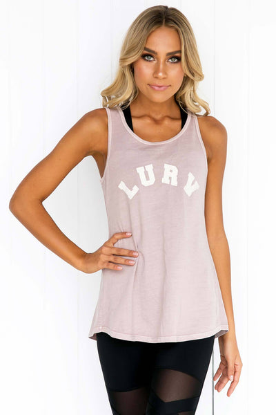 Cupids Arrow Tie Singlet - PURE DASH