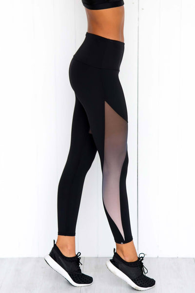 Half Moon Ombre Leggings - PURE DASH
