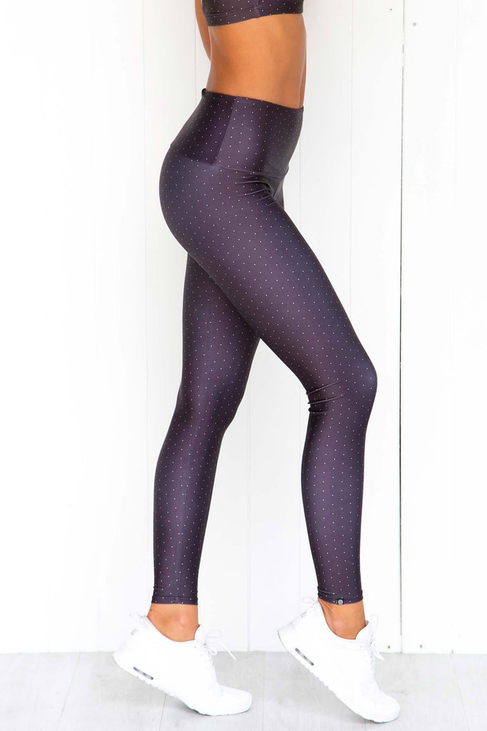 Dots High Rise Leggings - PURE DASH