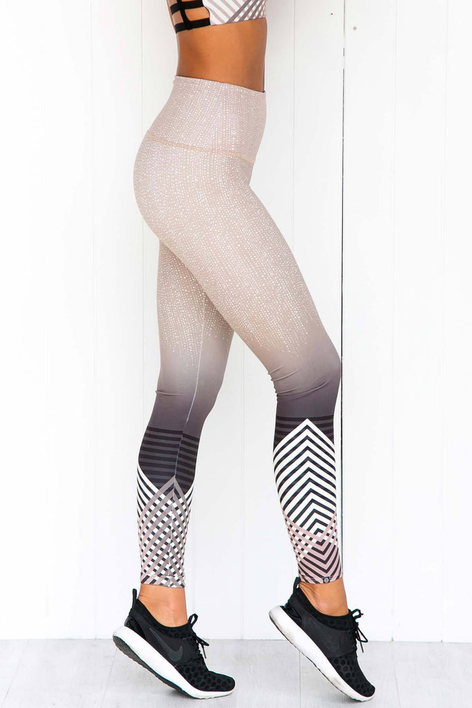 High Rise Luxe Leggings - PURE DASH