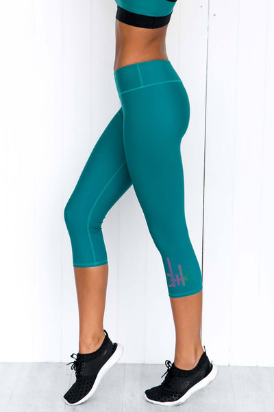 Journey Tights - Turquoise - PURE DASH