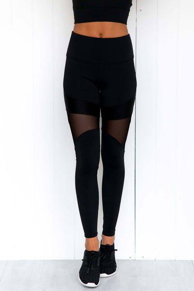 Royal Leggings - Black