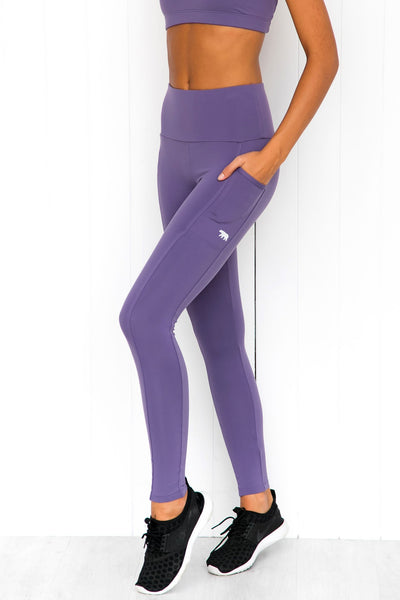 Power Moves Full Length Tights - Controvers - PURE DASH