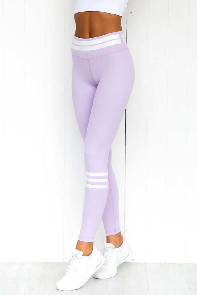 Giselle Lilac Frost Leggings - PURE DASH